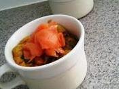 Flan poivrons saumon