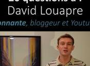 questions David Louapre, bloggeur Youtubeur scientifique