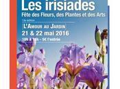 IRISIADES 2016 Découvrez L'AMOUR JARDIN Fête fleurs, plantes arts Château d'Auvers, tiendra prochains Auvers-sur-Oise (Val d'Oise)