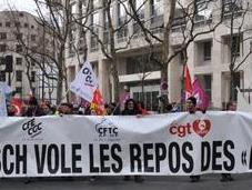 SOIGNANTS Grève manifestation mars l'AP-HP Communiqué intersyndical