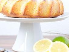 Bundt cake citron