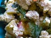Salade tofu croquante protéinée