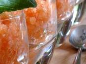 Granité cantaloup gingembre