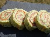 Recette Amuse bouches courgettes, saumon fumé Thermomix