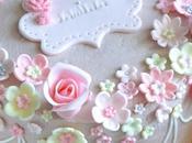 Layer cake petit jardin fleuri