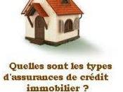 Quelles sont types d'assurances crédit immobilier