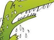 Paie larmes crocodile pour aurevoirs famille.