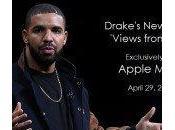 Drake l'album Views exclusivité Apple Music iTunes