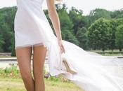 robe mariée courte modernité couplée féminité