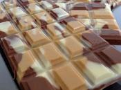 Barres trois chocolats