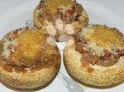Champignons farcis deux jambons