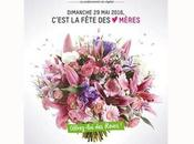 VAL'HOR l'Interprofession française l'horticulture, fleuristerie paysage Dimanche 2016, Fête Mères sera rose avec Parole Fleurs