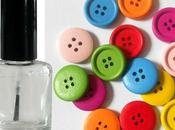 Astuce solidifier boutons avec vernis ongles