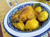 Tajine poulet sauge