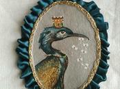 Médaillon Conte d'oiseau N°13