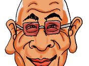 Caricature Mouammar Kadhafi