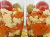 Verrines poivron œufs brouilles [#verrines #œuf #apéro]