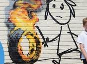 Banksy réalise fresque dans école Bristol