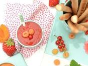 Gressins sucrés dips fruités