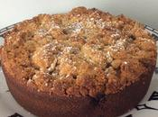 Cake Crumble Rhubarbe