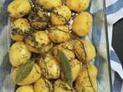 Pommes terre rôties herbes épices méditerranéennes
