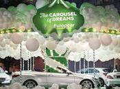 Europcar Mercedes-Benz construisent manège pour adultes