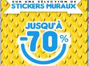 Soldes Stickers muraux jusqu'à -70%! déco cher