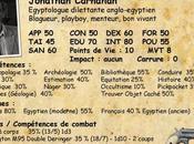 [Pulp] Jonathan Carnahan, égyptologue dilettante