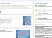 Facebook règle texte images publicitaires