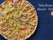 Tarte amandine abricots pistache