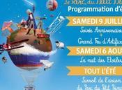 Parc Petit Prince d'artifice l'anniversaire