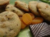 Biscuits abricots secs chocolat dried apricots chocolate cookies galletas albaricoques secos بسكوي بالمشمش المجفف الشكولاته