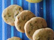 Biscuits citron basilic