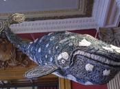 TABA NABA Jidirah baleine, sculpture ghostnet Monaco