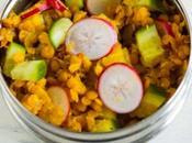 Salade Pondichéry Concombre Radis