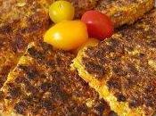 Galettes végétariennes (flocons d'avoine, poivron, courgette)