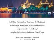 L'Office National Tourisme Thaïlande compagnie aérienne Emirates invitent Thailand Fanclub France célébrer Fête Lumières Bangkok