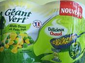 maïs petits pois geant vert égayent repas [#geantvert #legumes]