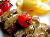 Filet canard poivre l'Armagnac