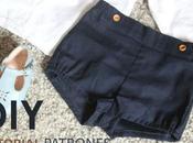 Patron gratuit shorts pour bébés