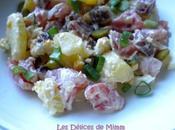Salade pommes terre saucisson