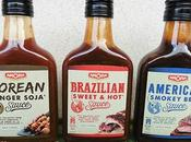 sauces amora brazilian, american, korean tour monde saveurs [#amora #worldfood]