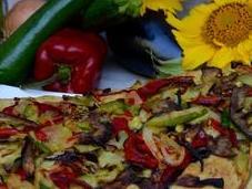 Foccacia légumes grillés