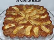 Gâteau pommes amande pour escapade cuisine