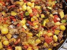 Ratatouille Revisitée Légumes Croquants Courge Nice, Tomates Cerises Thym Jardin