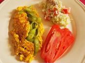 Assiette estivale colorée