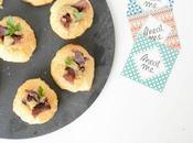 Amuse-bouche soufflé biltong Meat caviar d'aubergine