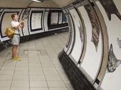 chats métro londonien