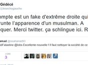 usurpation d'identité twitter méfiez vous fakes muslims #antifa