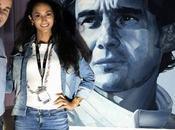 Portrait Sempre champion course Formule Ayrton Senna